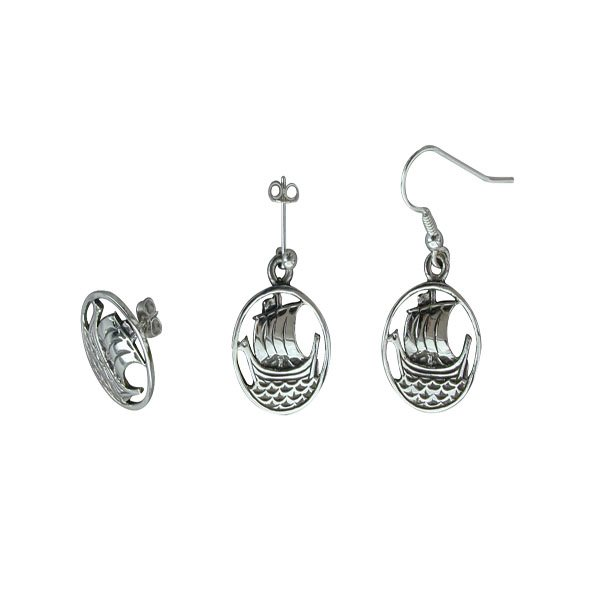 Orasay Silver Earrings