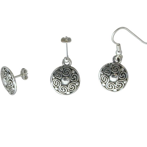 Gualan Silver Earrings