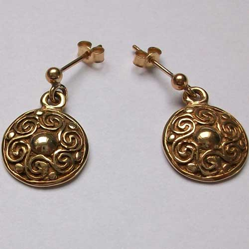 Gualan Gold Earrings