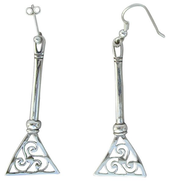 Scalpay Silver Earrings
