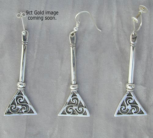 Scalpay Gold Earrings