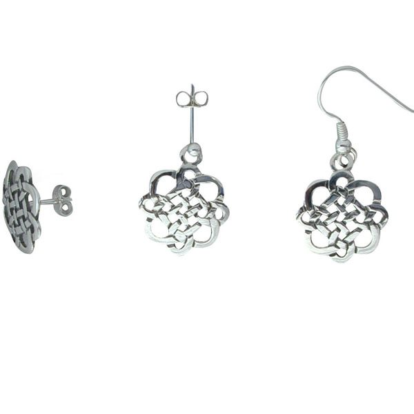 Heisker Silver Earrings