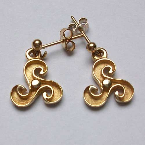 Boreray Gold Earrings