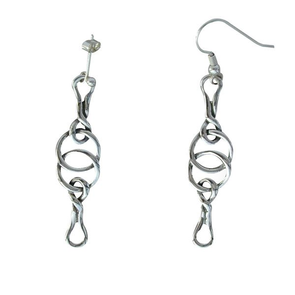 Stac An Armin Silver Earrings
