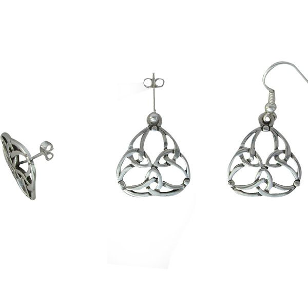 Vallay Silver Earrings