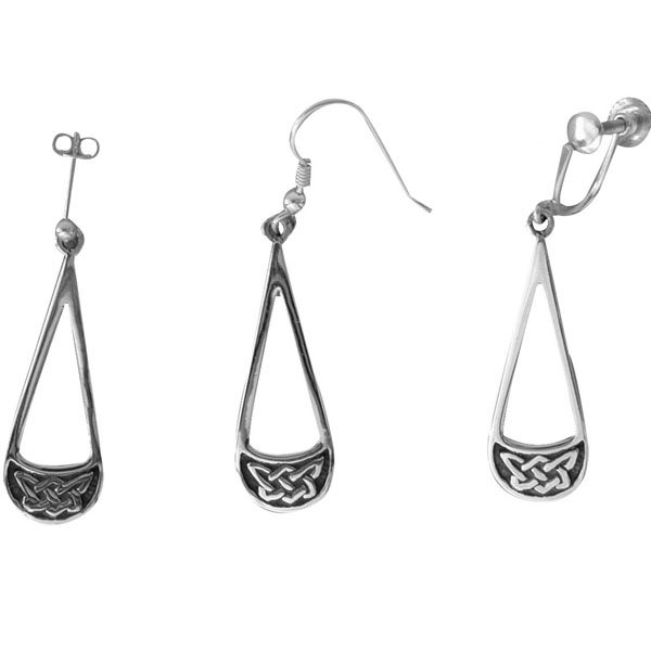 Taransay Silver Earrings