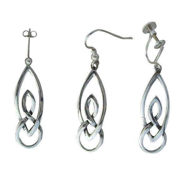 Lewis Silver Earrings