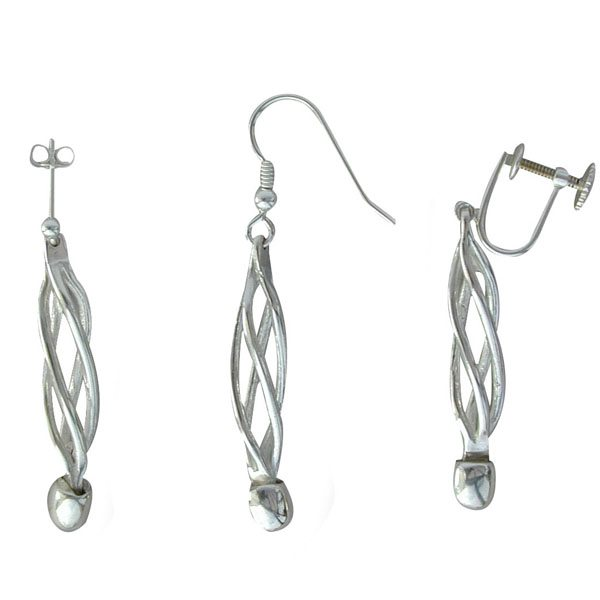 Eilidh Mhor Silver Earrings