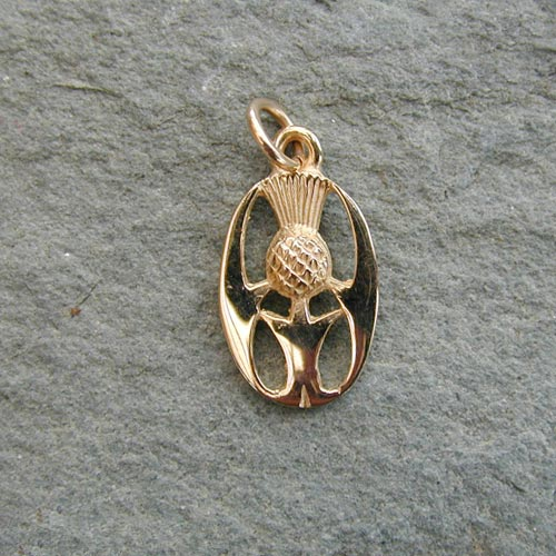 Killiecrankie 9ct Gold Charm