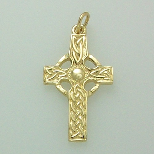 St Columba 9ct Celtic Cross