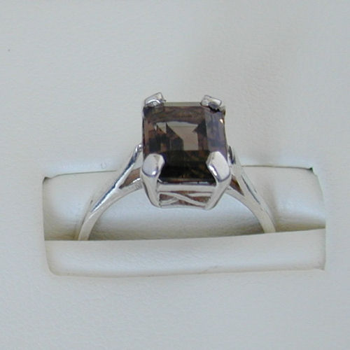 Ness Ring Smokey Quartz
