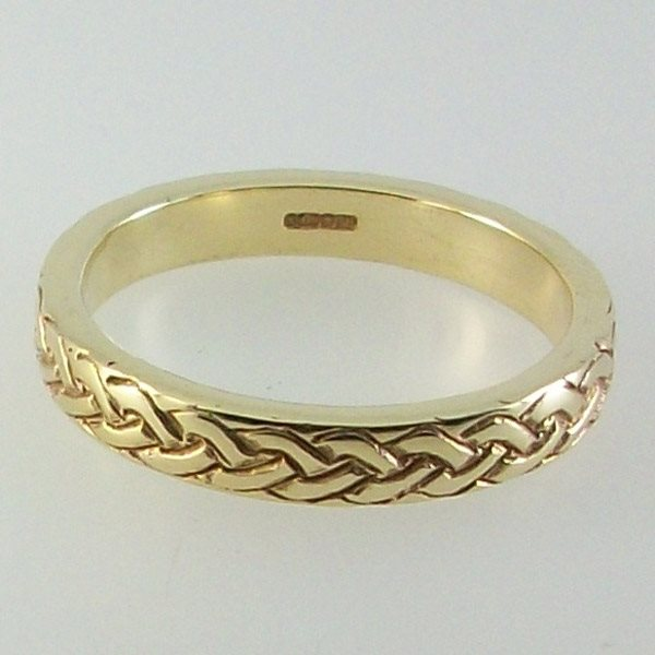 Breton Band Ring 9ct